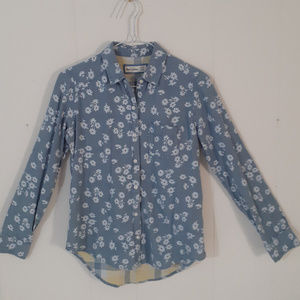 Abercrombie Kids Floral Long Sleeve Btn Down Shirt